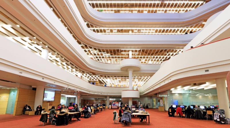Toronto Reference Library Interior