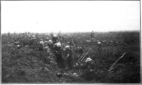 Vimy trenches