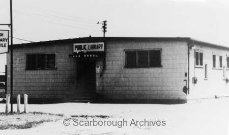 Golden Mile library branch in about 1956