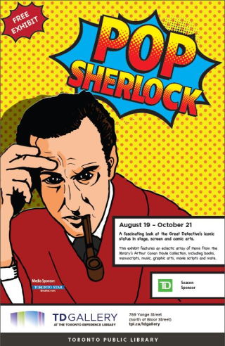 Pop Sherlock Poster