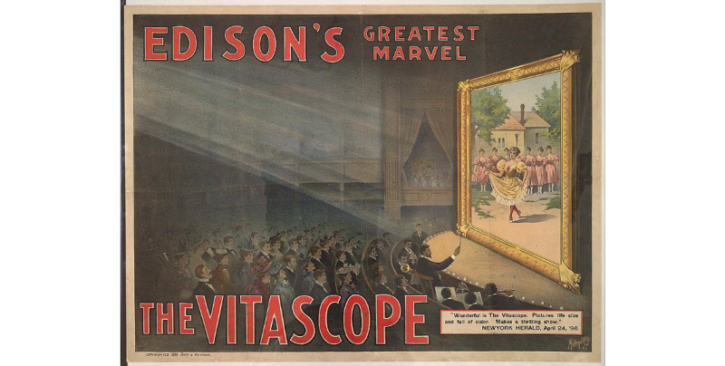 Edison's greatest marvel The Vitascope