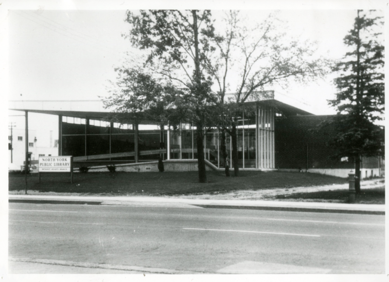 Bathurst Heights Branch exterior 1962