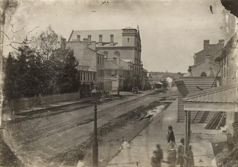 Yorkville Hall 1861