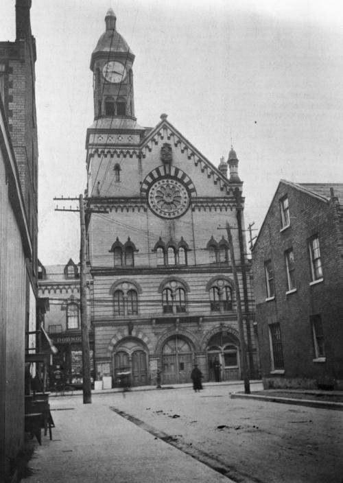 Yorkville Town Hall 1907