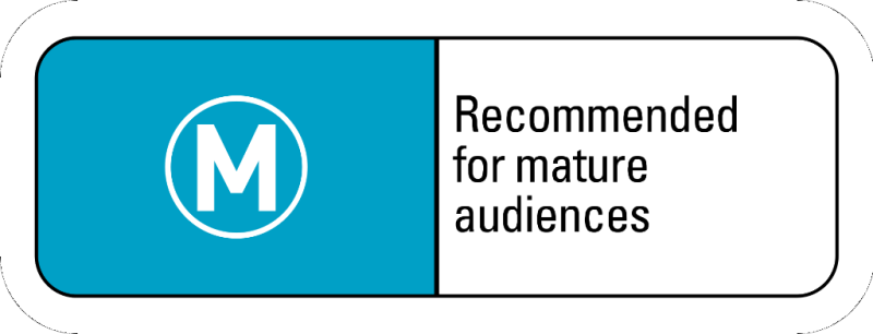 Recommended for mature audiences