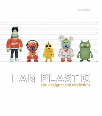Book cover with plastic figures againsts a backdrop that measures their height