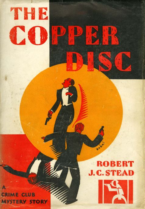 Book cover of The Copper Disc