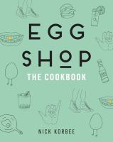 Egg shop the cookbook