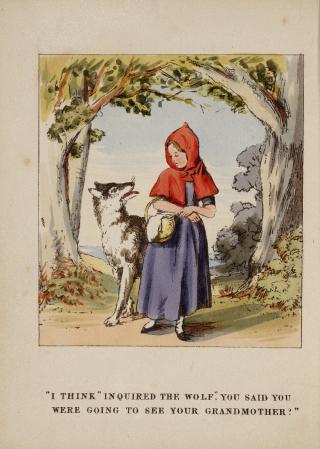 1.Little Red Riding Hood. Summerly  Felix. 1843