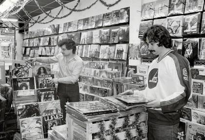 Yonge Street record store