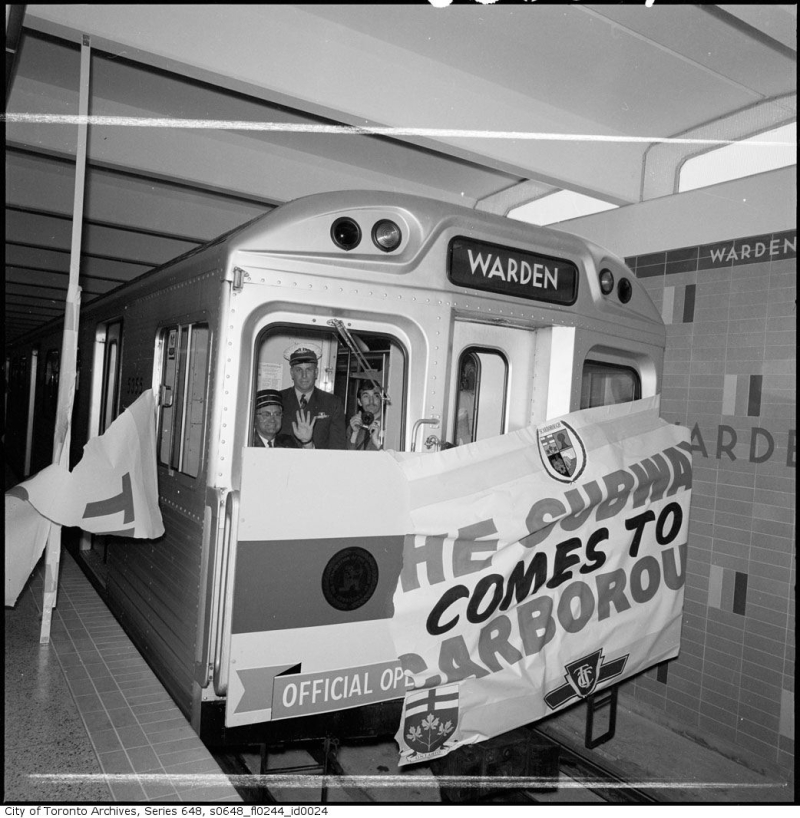 Toronto Archives The Subway Comes to Scarborough May 10 1968 s0648_fl0244_id0024