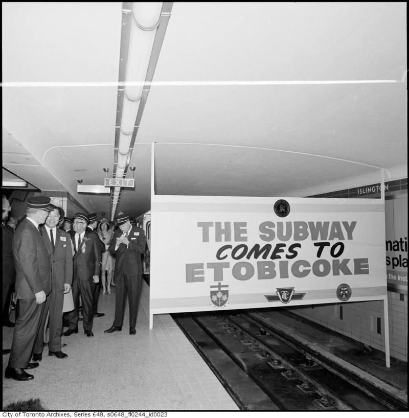 Toronto Archives The Subway Comes to Etobicoke May 10 1968 s0648_fl0244_id0023