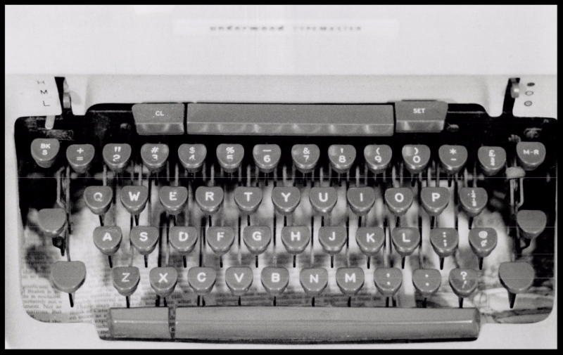Typewriters Lost in Time - Local History & Genealogy