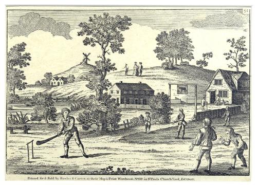 Cricket Broadside  1795