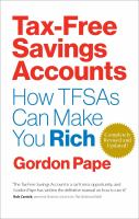 Tax free saving accounts