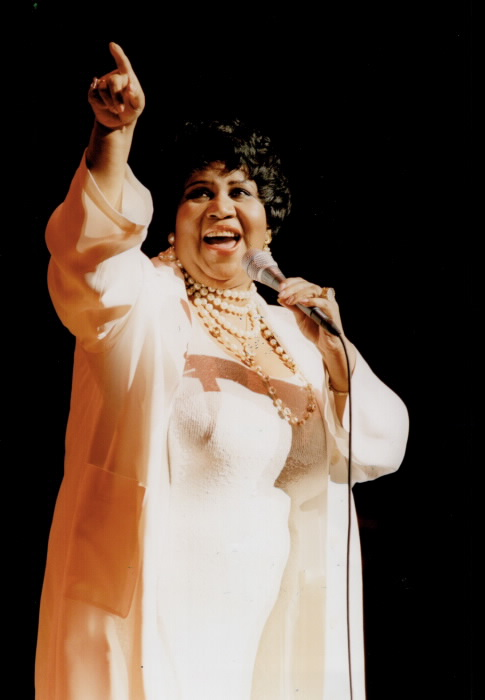 Aretha Franklin photo from the Toronto Star Archives Ron Bull photographer