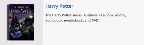 Harry potter search spotlight