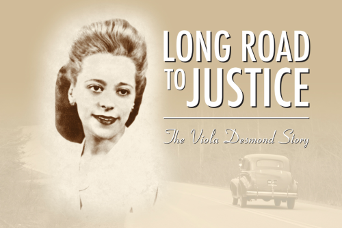Long Road to Justice The Viola Desmond Story DVD