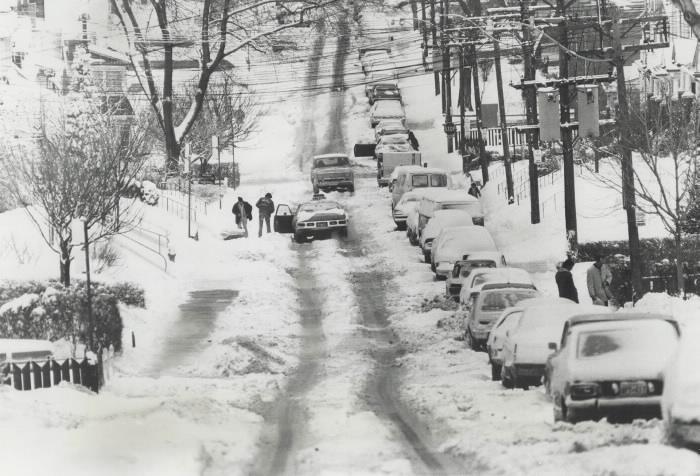 Weatherman's Christmas Present Snow Storm 1975