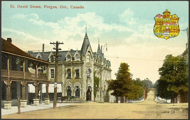 St David Street  Fergus  Ontario  1910