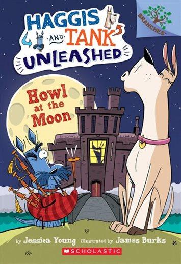 Haggis and Tank Howl at the Moon