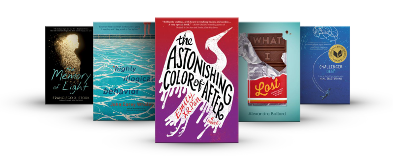 Book covers from the Headspace Booklist