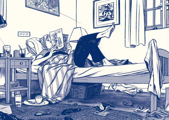 Panel from This One Summer
