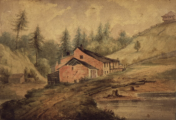 Illustration of Joseph Bloor's Brewery