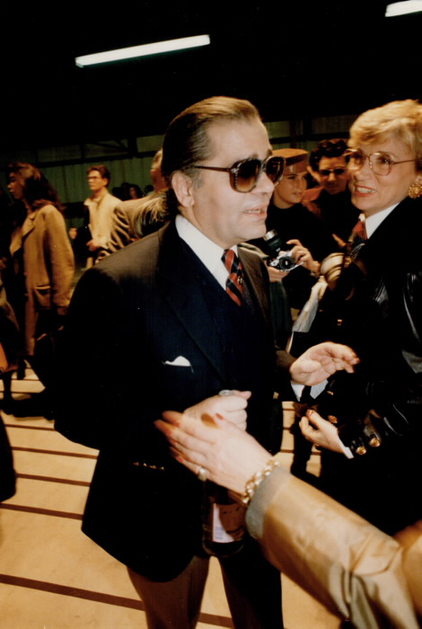 Designer Karl Lagerfeld 1988 Toronto Star Archives photo by Bernard Weil