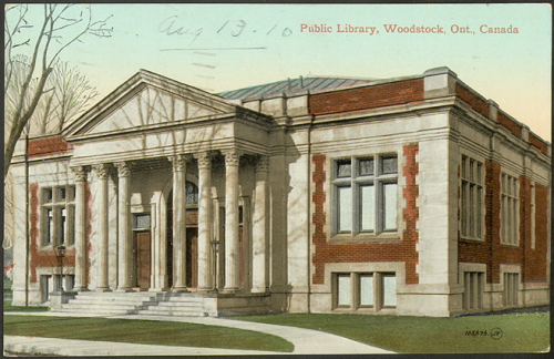 Public Library  Woodstock Ont.  Canada