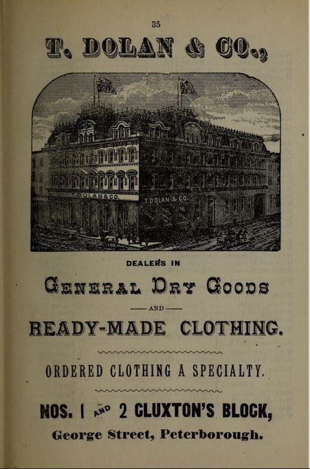 Peterborough business directory 1883