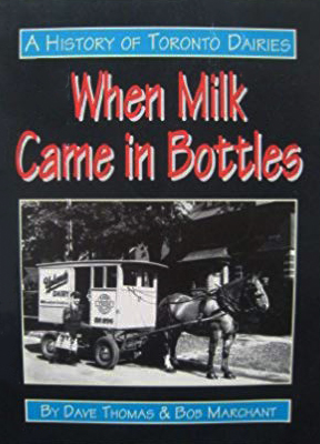 Cover of book with horse carrying dairy cart