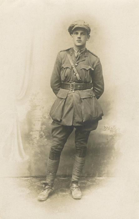 Lieutenant Edgar P. Black 43 Battery CFA Killed In Action Vimy Ridge 6.6.1917