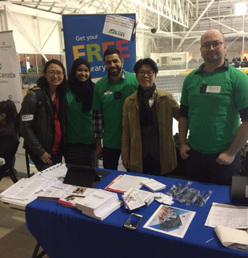 Staff at Homless Connect Fair
