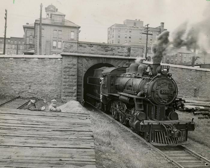 Brockville and Ottawa Railway Tunnel 1954
