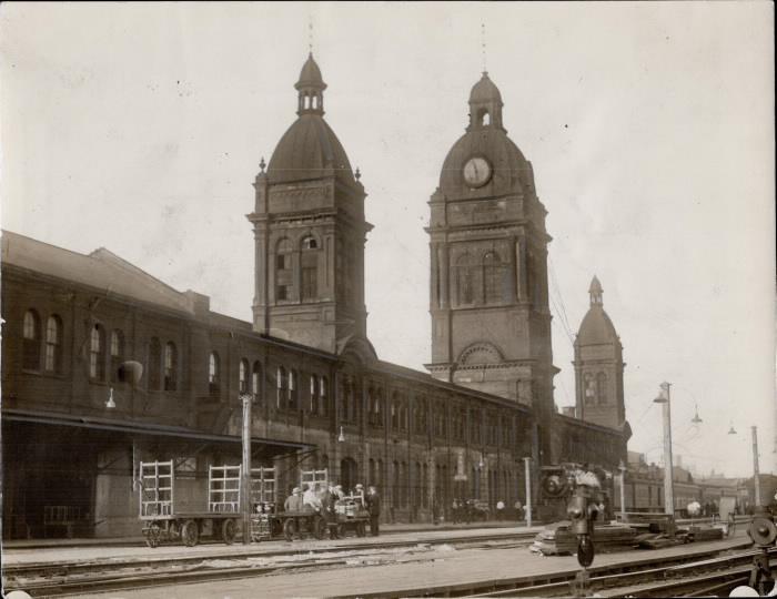 Old Toronto Union Station 1927