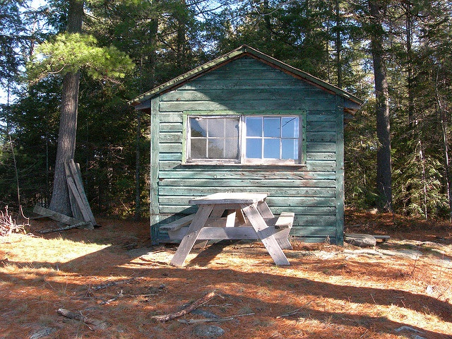 Algonquin Park tourist cabin