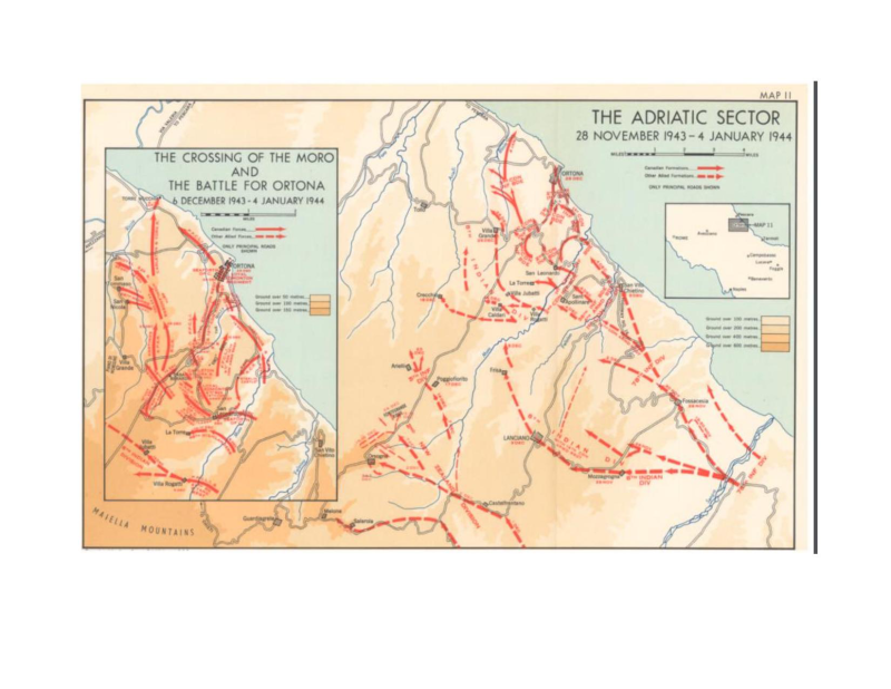 The Canadians in Italy 1943-1945 Map 11-page-001