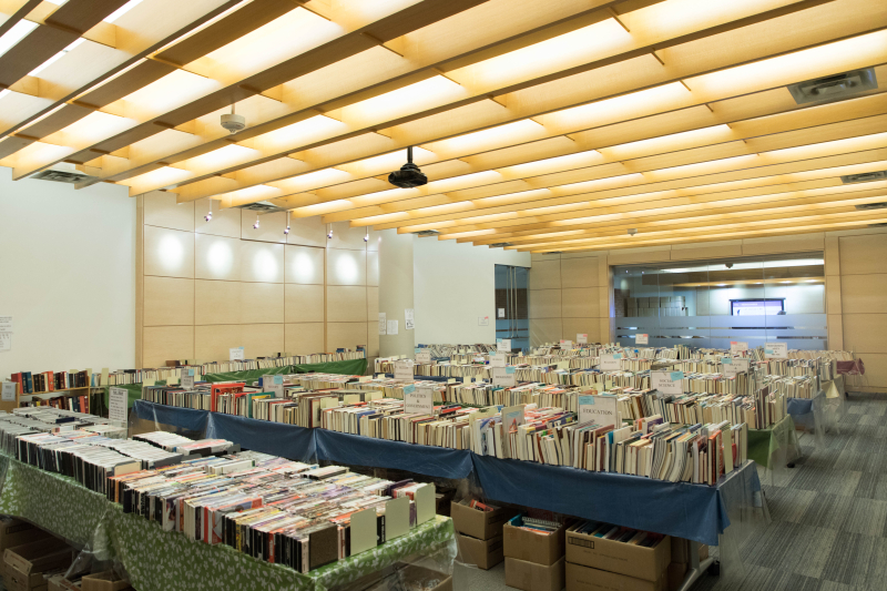 Book sale at Toronto Reference Library