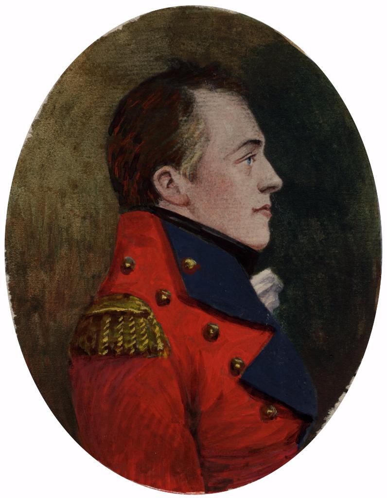 Portrait of Sir Isaac Brock  1769-1812