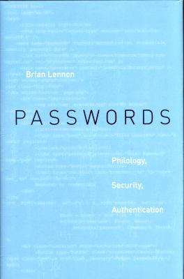 Passwords philology  security  authentication