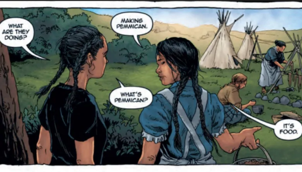 Pemmican Wars: A Girl Called Echo detail