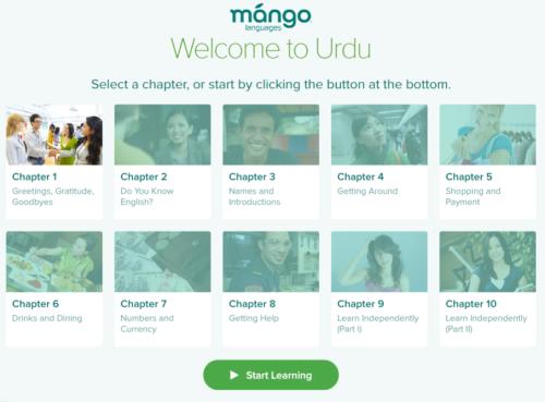 Mango Languages - Urdu