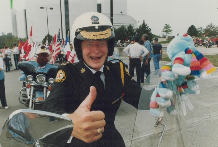 Police Chief Designate William McCormack 1989