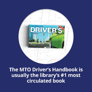 The MTO Driver's Handbook is usually the library's most circulated book