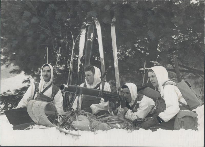 Tow machine gun 1941