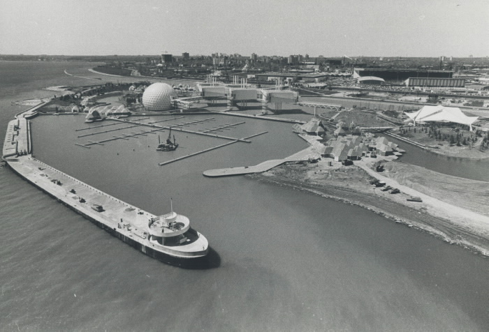 1971 photo Ontario place is the province's new 94-acre man-made showplace  Admission $1 for adults  50 cents for children free for senior citizens.