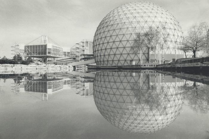 1980 photo Cinesphere Ontario Place