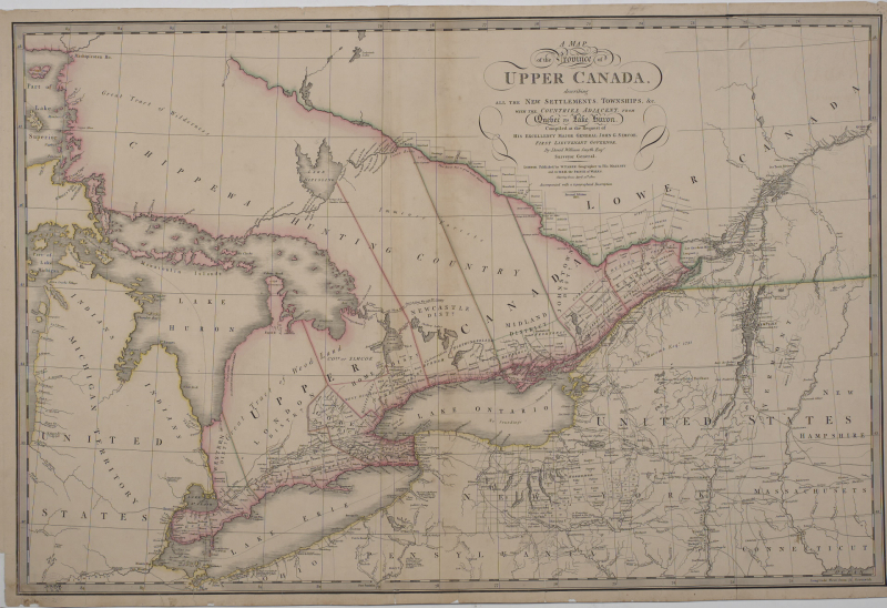 Map Of Canada History.Cool Vintage Maps From Digital Archive Ontario Local History