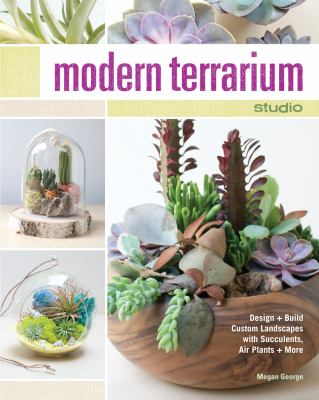 Modern terrarium studio  design and build custom landscapes with succulents  air plants and more